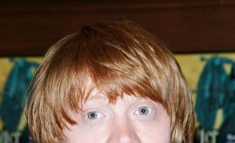 Rupert Grint Contracts, Fights Off Swine Flu
