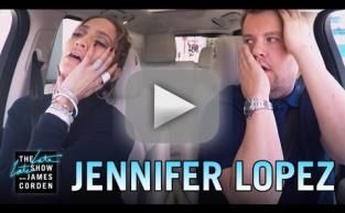 Jennifer Lopez Joins James Corden for Carpool Karaoke