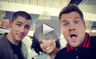 Demi Lovato and Nick Jonas: See Them on Carpool Karaoke!