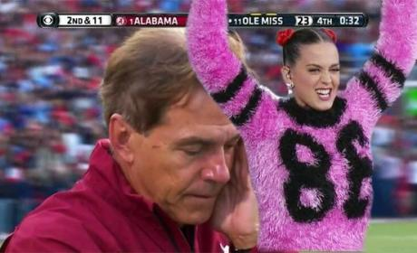 Katy Perry, Nick Saban