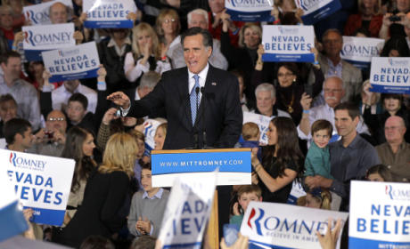 Nevada Caucus Results: Mitt Romney Rolls in Silver State, Newt Gingrich & Ron Paul Fight For Second