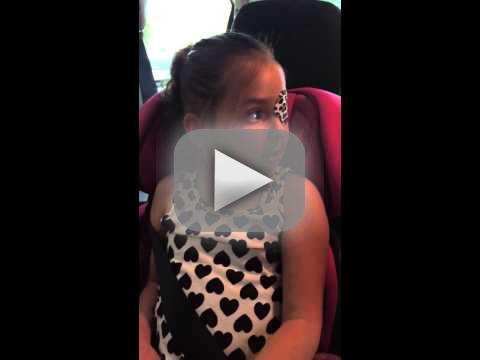 Kristen bell surprises little girl with brain tumor watch