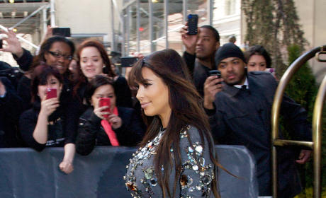 Kim Kardashian Pregnant, In NYC