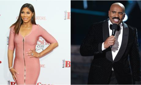 Tamar Braxton Has A New Job, Thanks To Steve Harvey