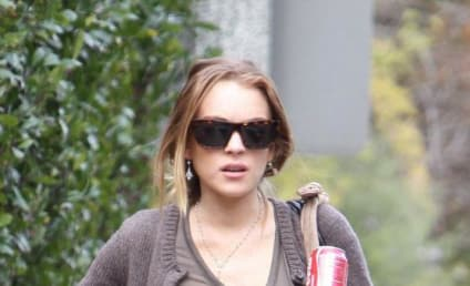 Lindsay Lohan: Stressed, But Still Eating Sometimes