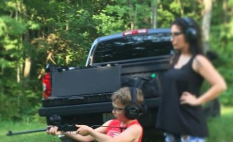 Bristol Palin Shares Pic of Toddler Son Shooting a Gun