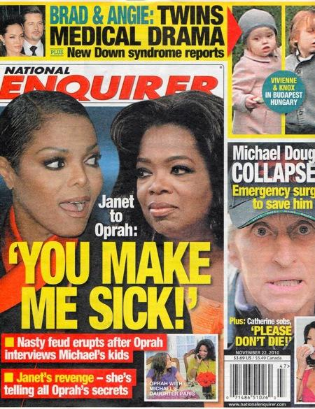 Janet Jackson and Oprah