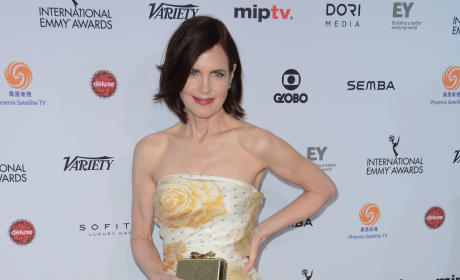 Elizabeth McGovern: 43rd International Emmy Awards