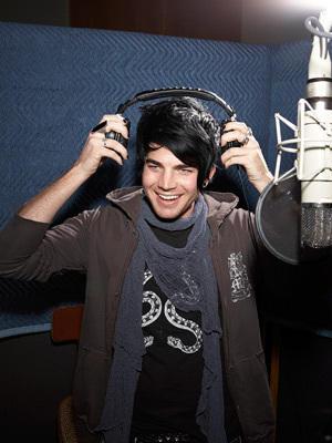 Adam in the Studio