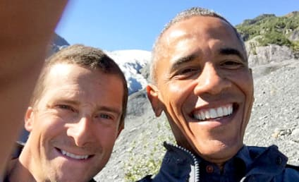 President Obama Snaps Selfie with Bear Grylls, Sticks It to PETA and Bristol Palin