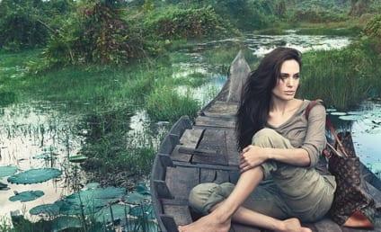Angelina Jolie Louis Vuitton Ad: A Moment of Zen