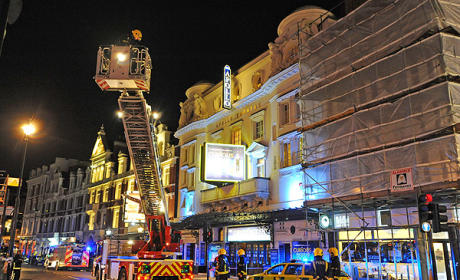 Apollo Theatre Collapses in London, at Least 80 Injuries Reported