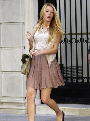 Blake Lively Fashion 2011