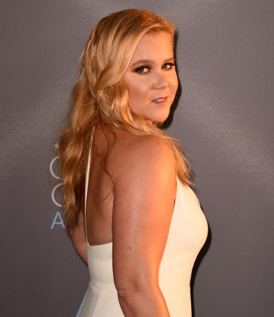 Amy Schumer in White