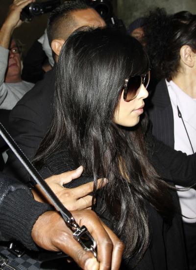 Kim at LAX