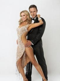 David Arquette and Kym Johnson