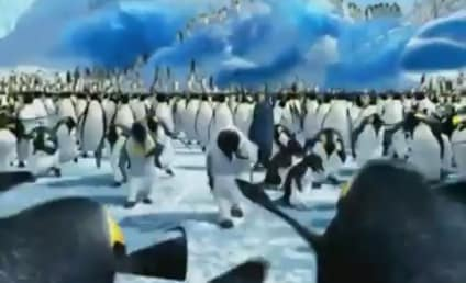 "Happy Feet Penguins Groove to ""Bille Jean"""
