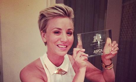 Kaley Cuoco Shows Off New, Spiky Hairstyle on Instagram: Love It or Loathe It?