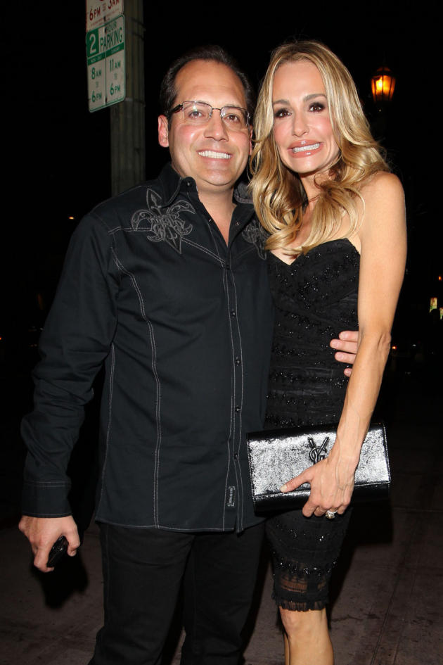 Russell Armstrong and Taylor Armstrong