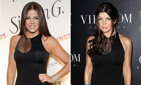 Fashion Face-Off: Khloe Kardashian vs. Fergie
