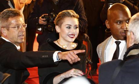 Miley Cyrus at Bambi Awards