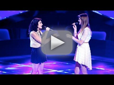 Alaska and Madi: 'Barton Hollow' (The Voice Audition)