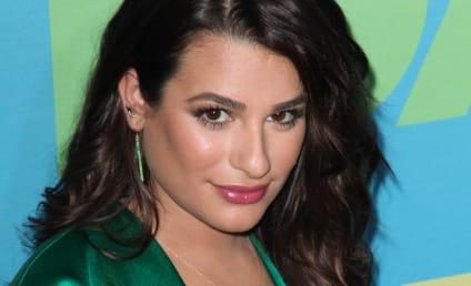 Lea Michele Warns Aviva Drescher: You Better Run!