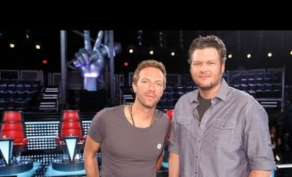 Chris Martin on The Voice: First Look!