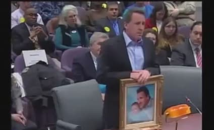 Newtown Father Heckled at Gun Violence Prevention Hearing