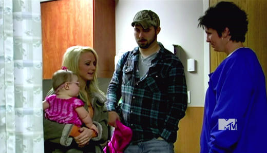 Leah Messer, Corey Simms, Baby