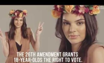 Kendall Jenner Urges Teenagers to Vote