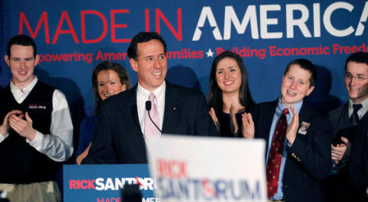 Santorum Wins Again