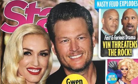 Gwen Stefani Blake Shelton Star August 29th 2016