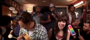 "Carly Rae Jepsen Sings ""Call Me Maybe"" with Jimmy Fallon, The Roots and Classroom Instruments"