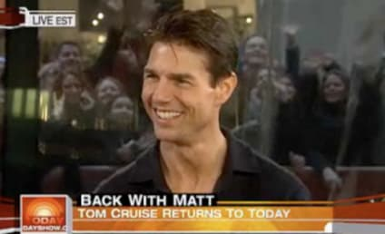 Tom Cruise Returns to the Today Show