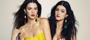 Kendall and Kylie Jenner in Marie Claire Mexico