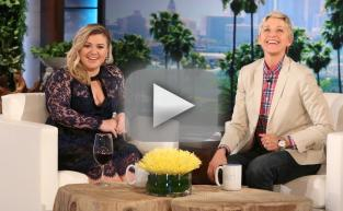 Kelly Clarkson Talks Weight on Ellen