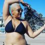 Plus-Size Woman Documents First-Ever Bikini Experience