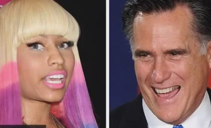"Nicki Minaj Raps Support for Mitt Romney, Bashes Democrats as ""Lazy Bitches"""