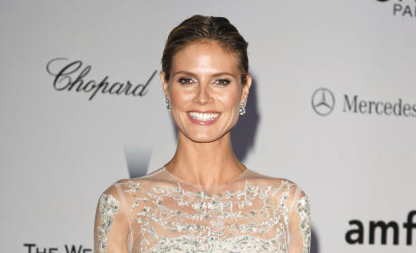 Heidi Klum in Cannes