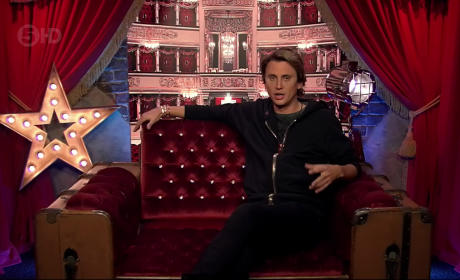 Jonathan Cheban Films In Celebrity Big Brother's Diary Room