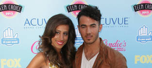 Danielle and Kevin Jonas Photo