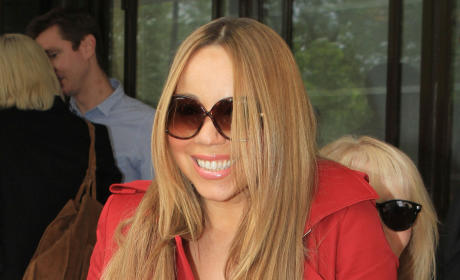 Mariah Carey in England