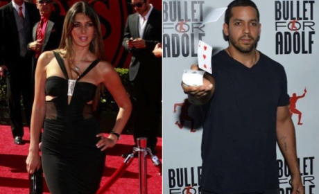 Brittny Gastineau, David Blaine Hook Up at Kimye Wedding