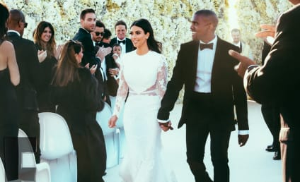 Kim Kardashian Wedding Dress Debate: Kanye vs. Kris!