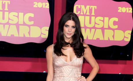 Ashley Greene at the CMT Awards