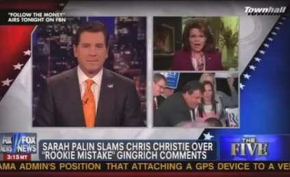 """Sarah Palin Says Chris Christie Has """"Panties in a Wad"""" Over Newt Gingrich Surge"""
