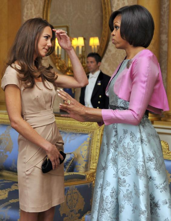Michelle Obama, Kate Middleton