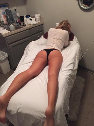 Kim Zolciak Shares Venus Freeze Treatment Photo