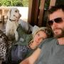 Chris Hemsworth and Elsa Pataky Pic